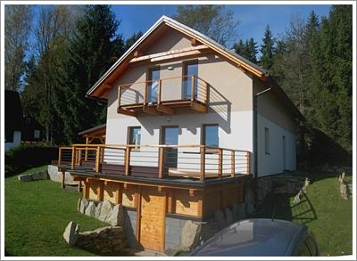 Chata U Lipna Ubytování V Rekreační Chatě Lipno Nad Vltavou